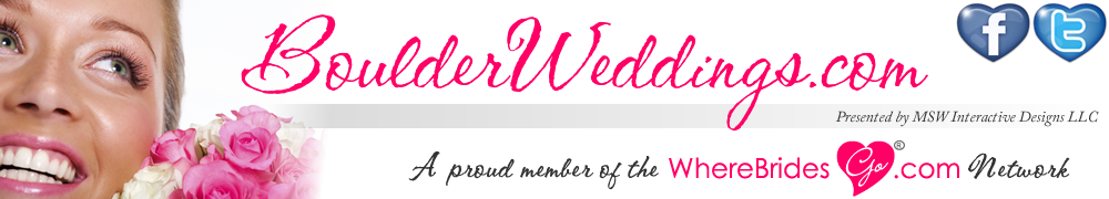 Plan your Boulder wedding with BoulderWeddings.com